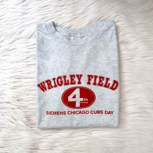 VTG 90s Wrigley Field Chicago Cubs Day Shirt